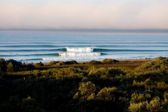 O visual em Lower Trestles