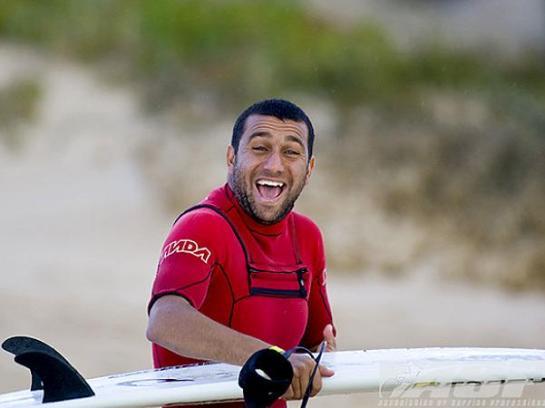 Esta foi a cara de Jihad depois de vencer sua bateria